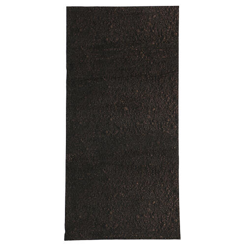 Nativity backdrop paper, dirt 60x30 cm 1