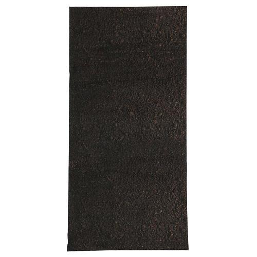 Papel modelable tierra oscura 60x30 cm para belenes 1