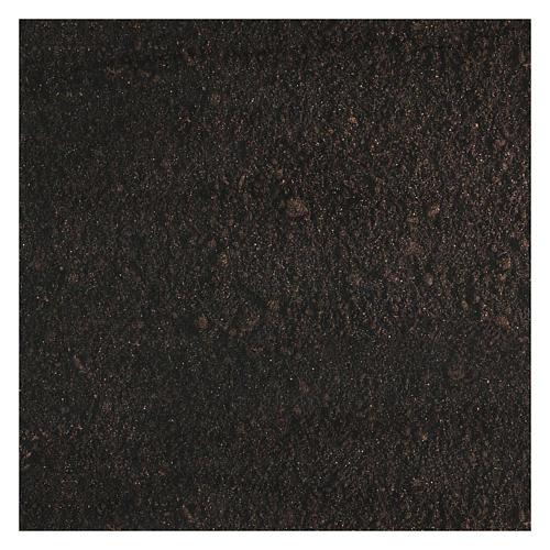 Papel modelable tierra oscura 60x30 cm para belenes 3