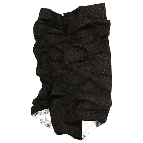 Papel modelable tierra oscura 60x30 cm para belenes 4