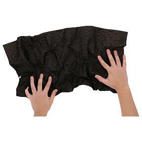 Carta modellabile terra scura 60x30 cm per presepi s2