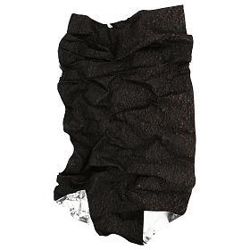 Carta modellabile terra scura 60x30 cm per presepi s4