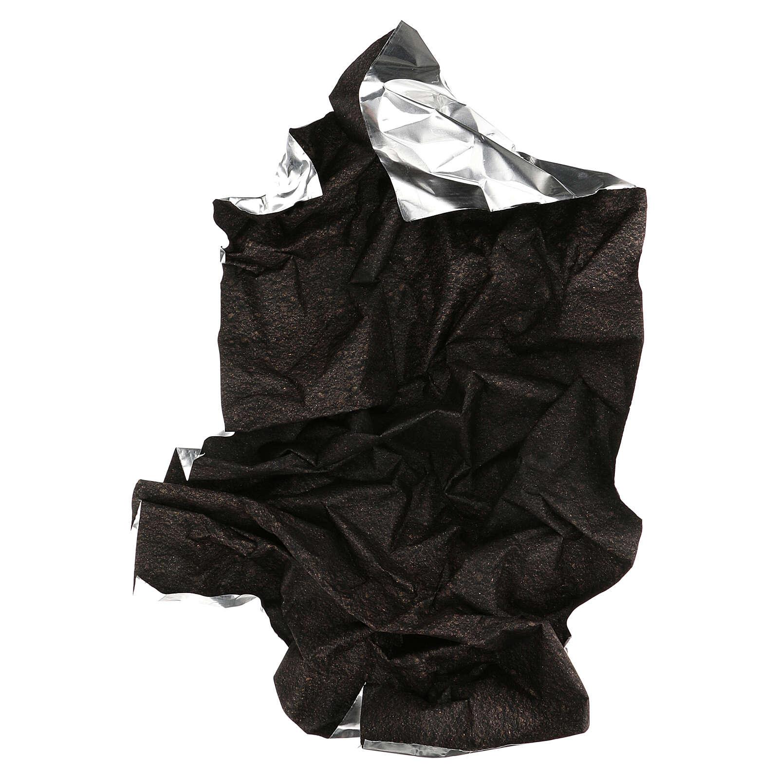 Black dirt paper nativity background 120x60 cm 4