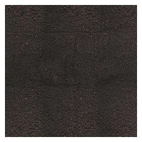 Black dirt paper nativity background 120x60 cm s3