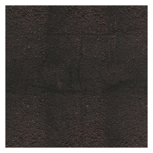 Black dirt paper nativity background 120x60 cm 3