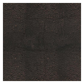 Papel tierra oscura modelable 120x60 cm para belenes s3