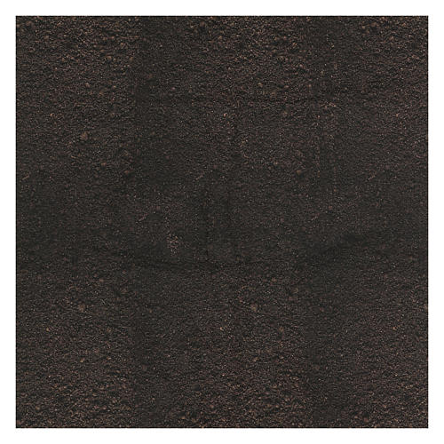 Papel tierra oscura modelable 120x60 cm para belenes 3