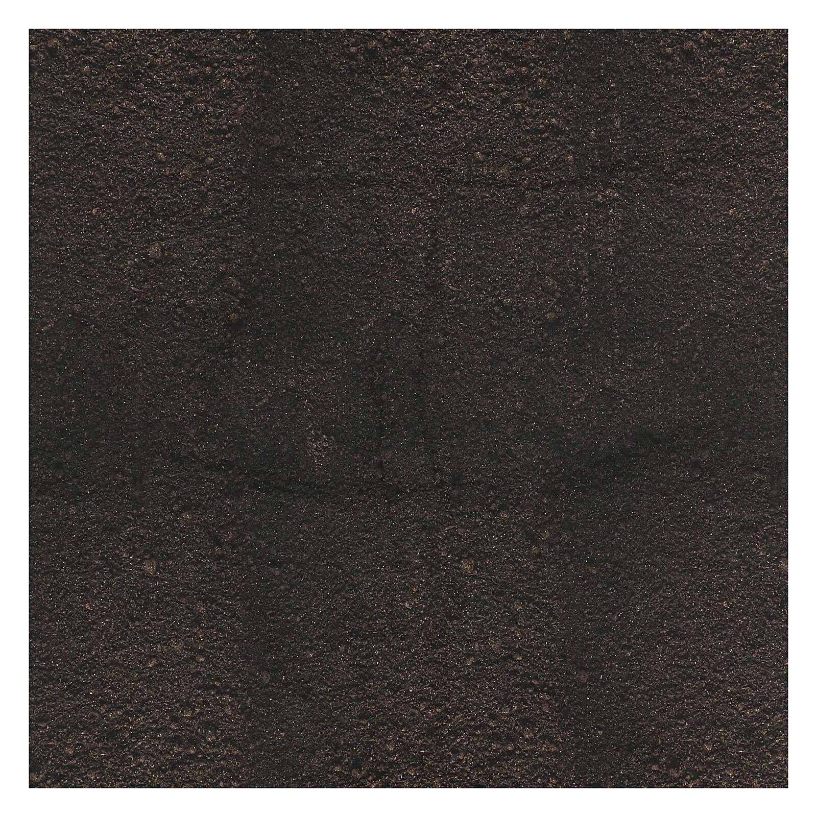 Carta terra scura plasmabile per presepi 4
