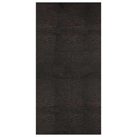 Carta terra scura plasmabile 120x60 cm per presepi s1