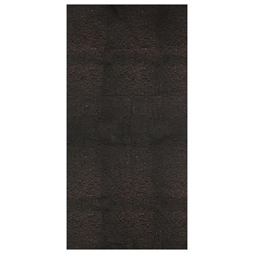 Carta terra scura plasmabile 120x60 cm per presepi 1