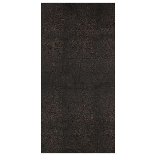 Carta terra scura plasmabile per presepi 1