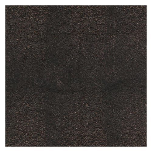 Carta terra scura plasmabile per presepi 3