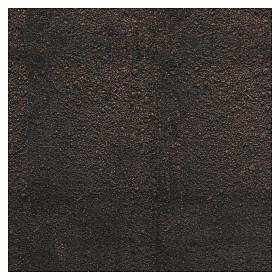 Papier à modeler terre foncée 60x60 cm pour crèche s3