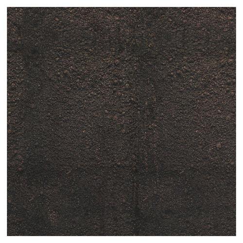 Carta plasmabile terra scura 60x60 cm per presepi 3