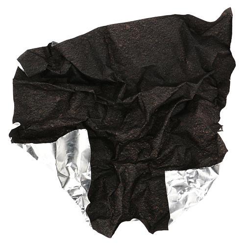 Carta plasmabile terra scura 60x60 cm per presepi 4