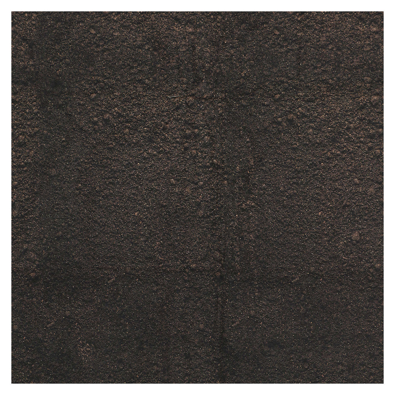Dirt paper for nativity scene background moldable, 60x60 cm 4