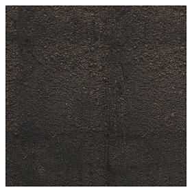 Dirt paper for nativity scene background moldable, 60x60 cm s3