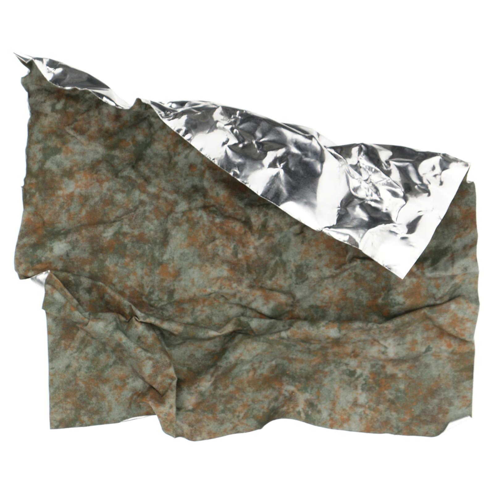 Modellierbares Papier für Krippe Baumstamm Effekt 30x30cm 4