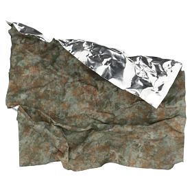 Modellierbares Papier für Krippe Baumstamm Effekt 30x30cm s4