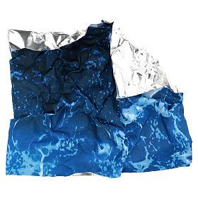 Modellierbares Papier für Krippe Wassereffekt 30x30cm s4