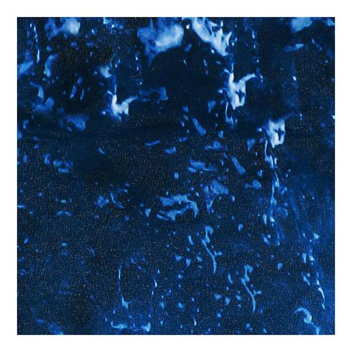 Modellierbares Papier für Krippe Wassereffekt 30x30cm 3