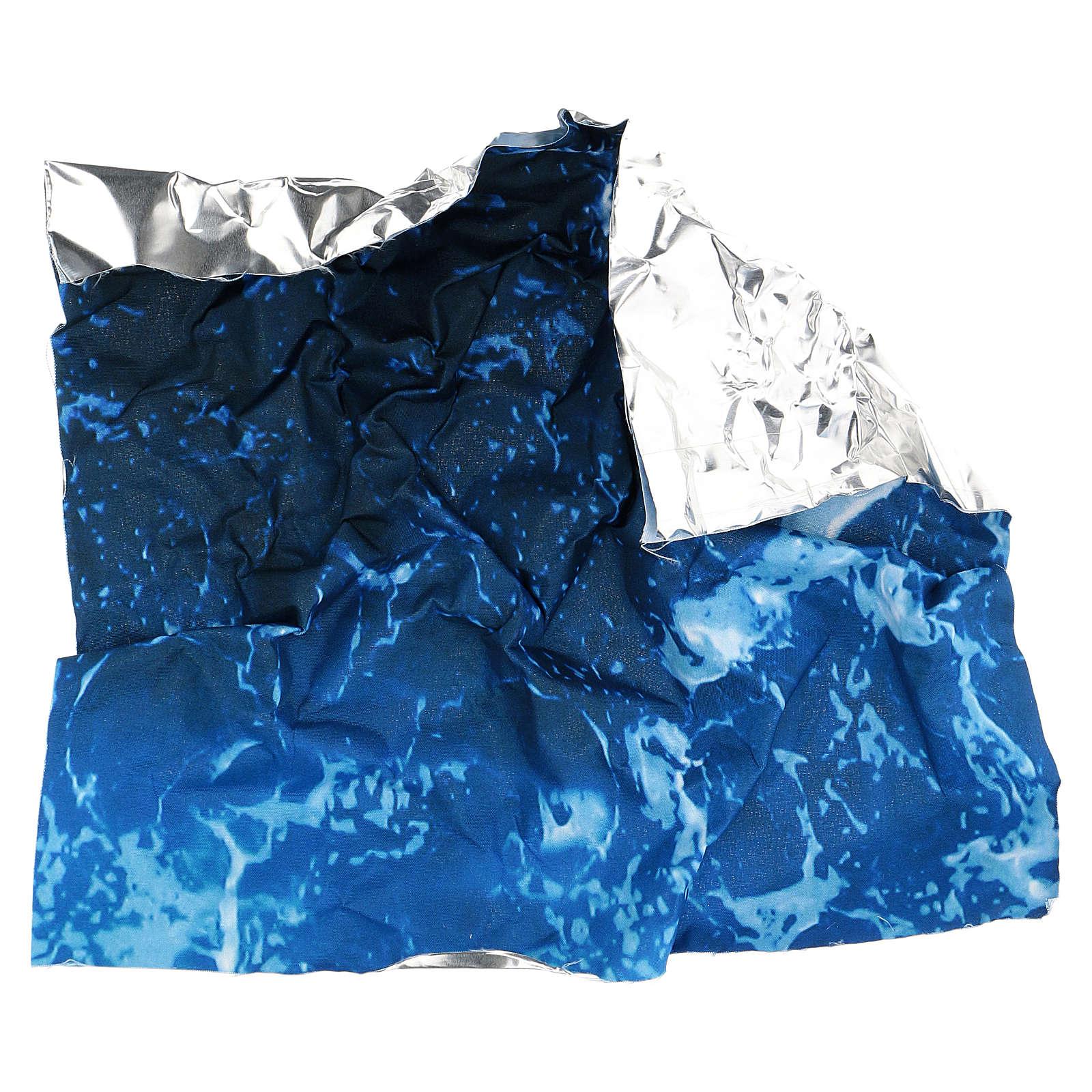 Papel para modelar água para presépio 30x30 cm 4