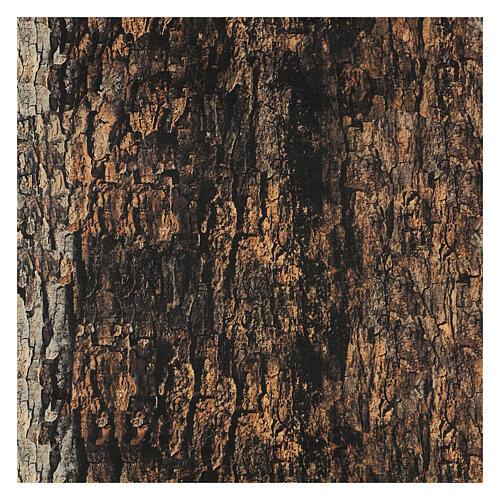 Tree bark paper shapeable 60x30 cm for nativity scene 3