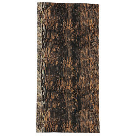 Tree bark paper shapeable 60x30 cm for nativity scene s1