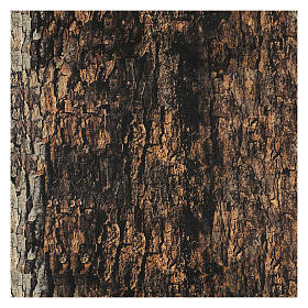 Tree bark paper shapeable 60x30 cm for nativity scene s3