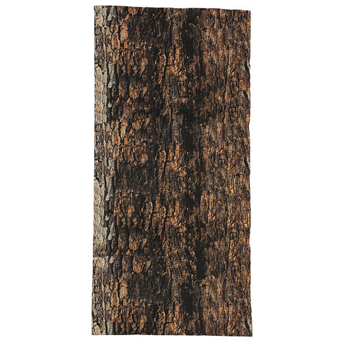 Tree bark paper shapeable 60x30 cm for nativity scene 1