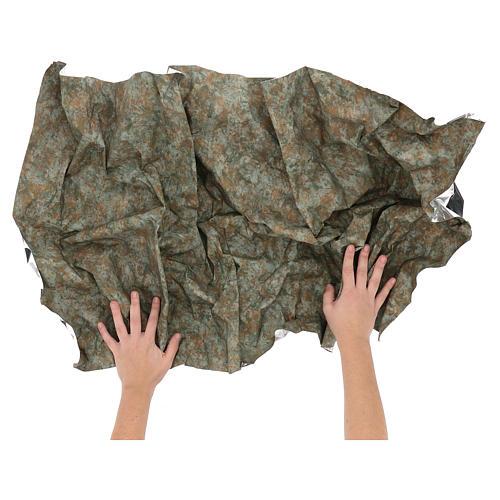 Papel modelable corteza 120x60 cm para belenes 2