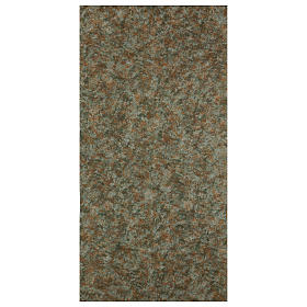Grass dirt paper 120x60 cm for nativity scenes s1