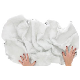 Papel nieve modelable 120x60 cm para belenes s2