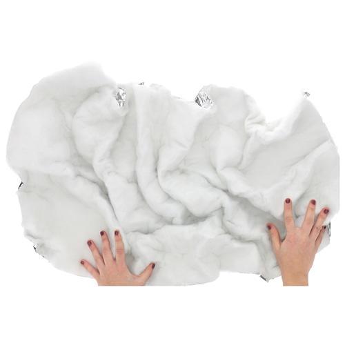 Papel nieve modelable 120x60 cm para belenes 2