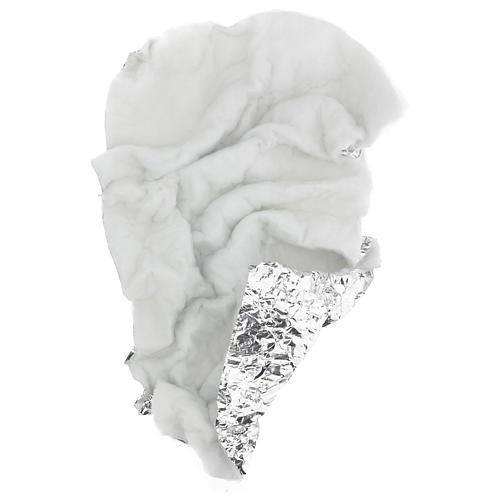 Papel nieve modelable 120x60 cm para belenes 4