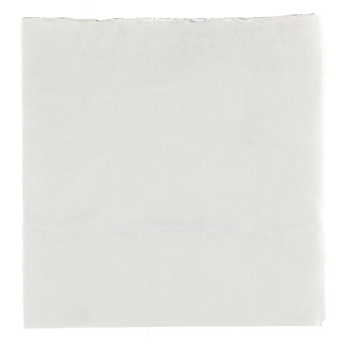Mouldable snowy paper for Nativity scene 30x30 cm 1