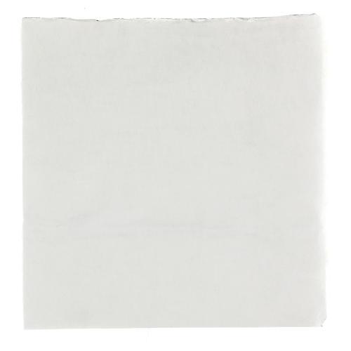 Papel modelable nieve con guata 30x30 cm para belenes 1
