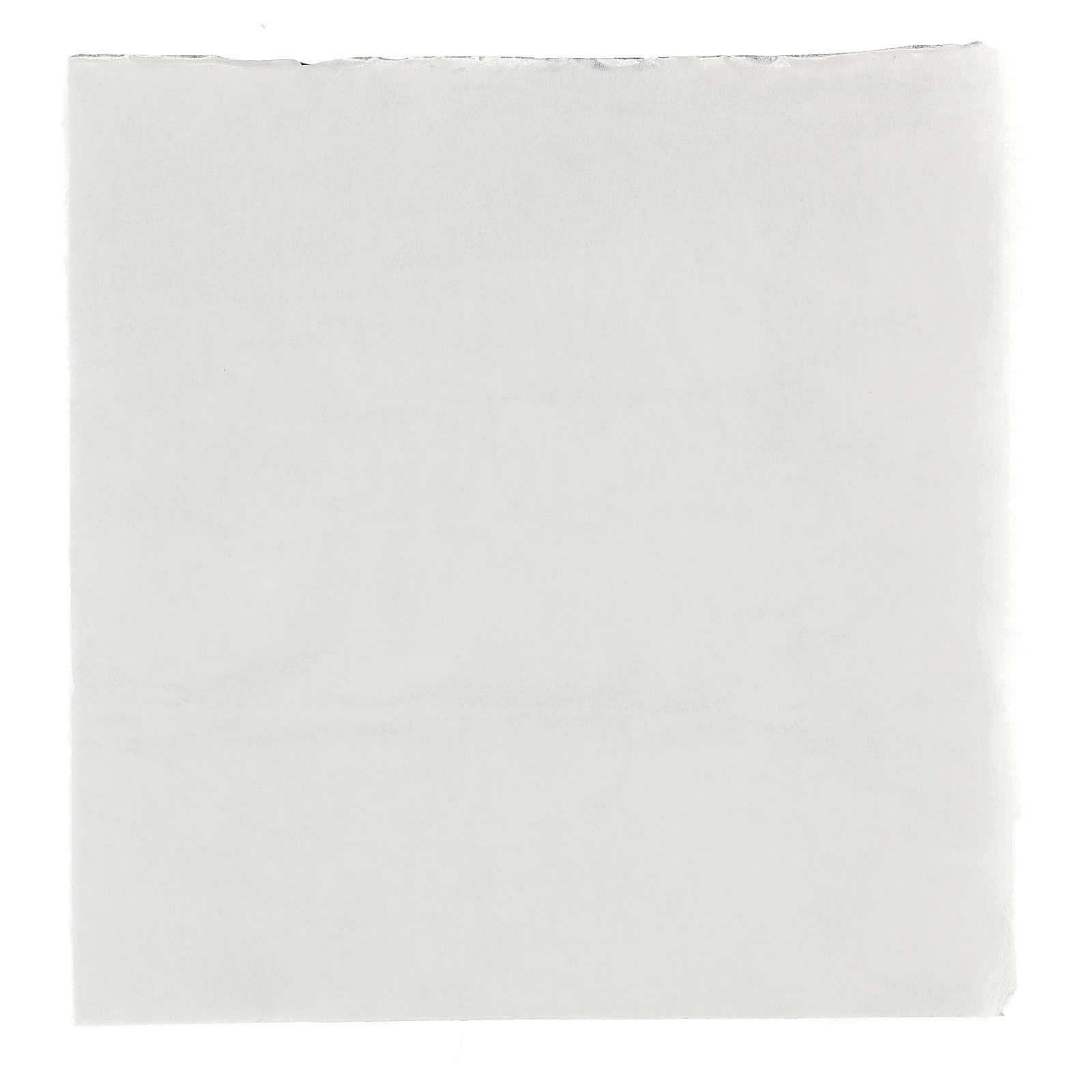 Snow paper for nativity scenes, moldable 30x30 cm 4