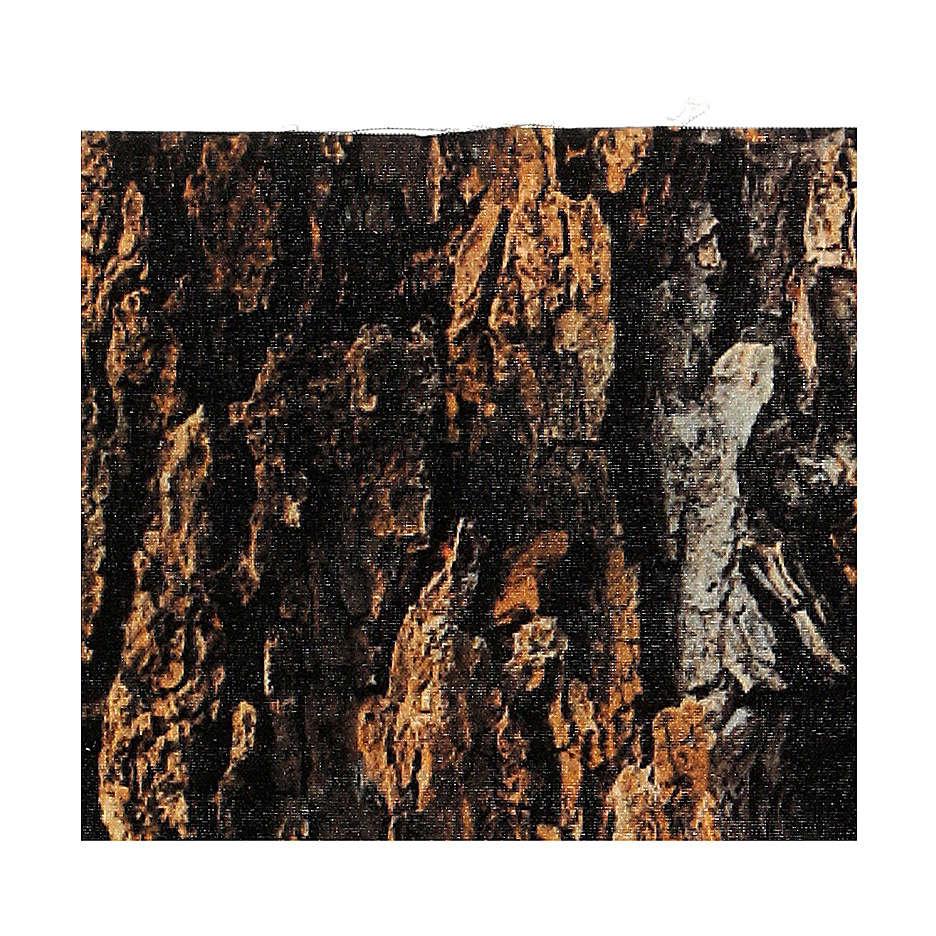 Papel modelable corcho corteza 30x30 cm para belenes 4