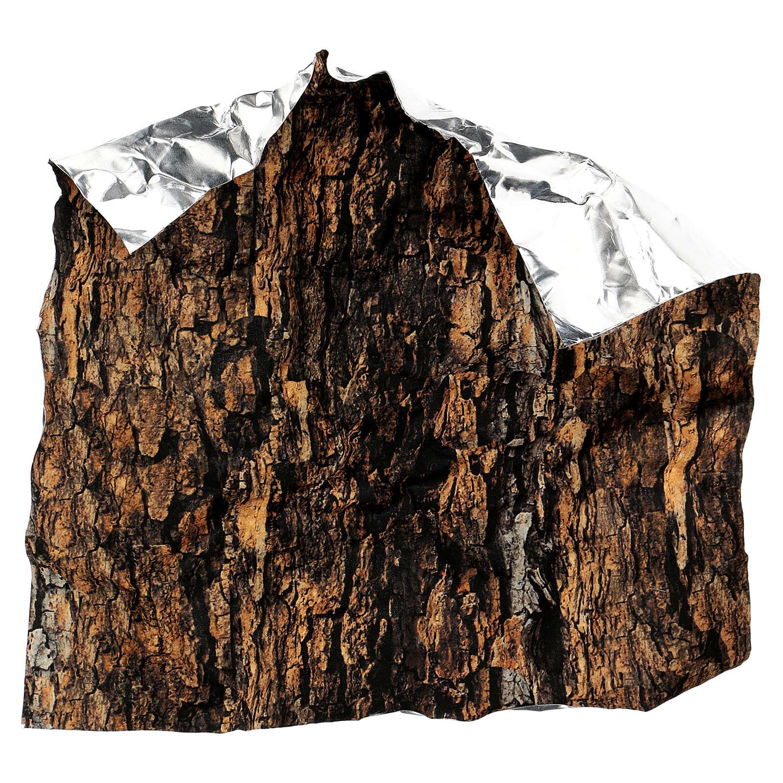 Papier do modelowania korek kora drzewa 30x30 cm, do szopek 4