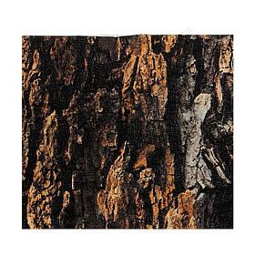 Papier do modelowania korek kora drzewa 30x30 cm, do szopek s3