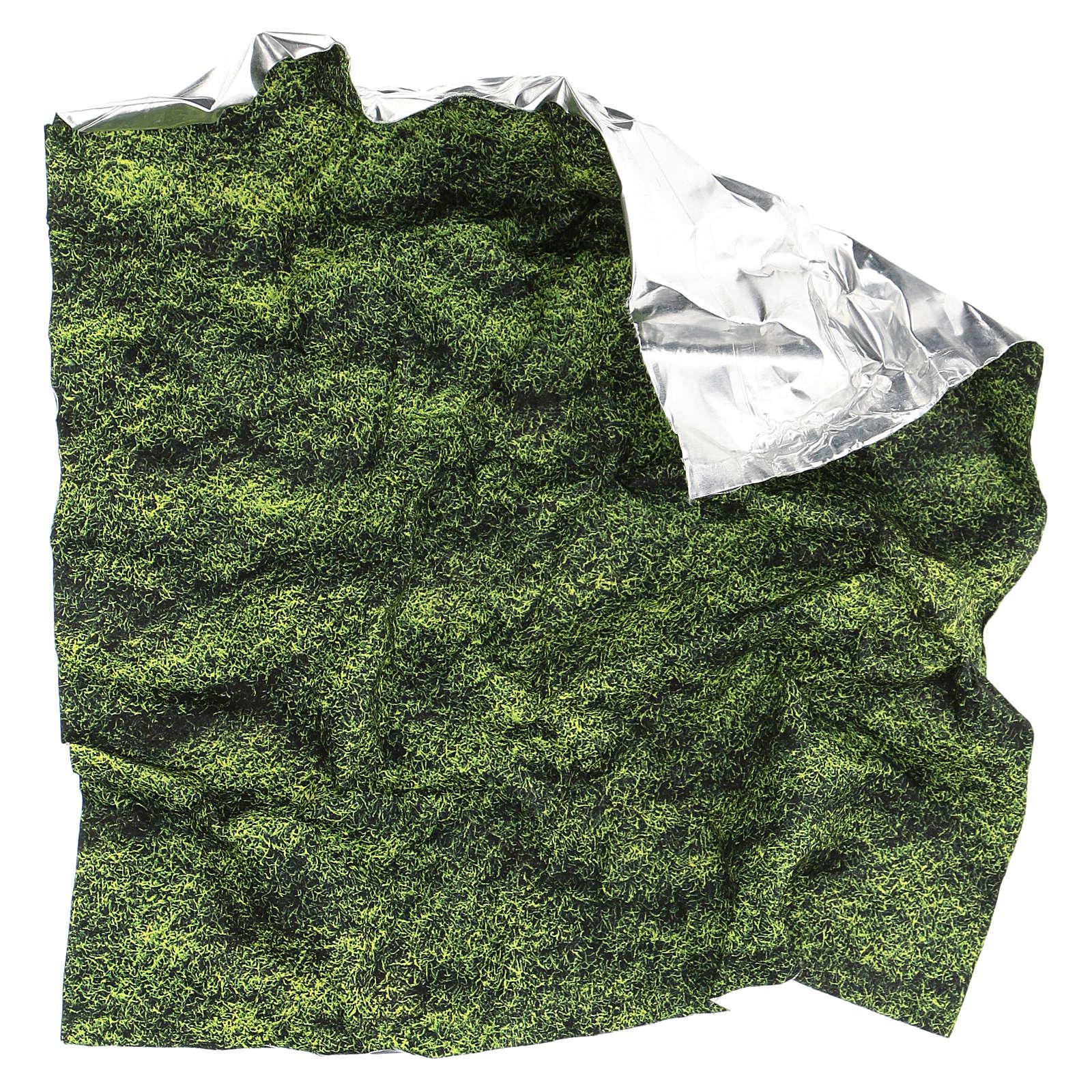 Modellierbares Papier für Krippe Mooseffekt 30x30cm 4