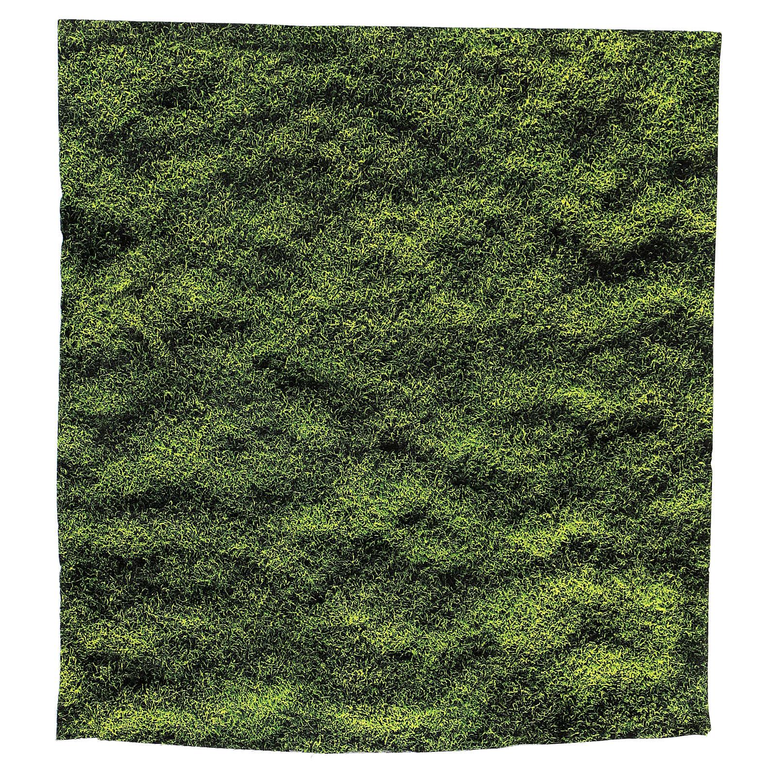 Moss design paper for nativity scenes 30x30 cm 4