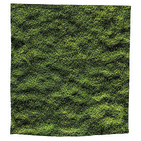 Moss design paper for nativity scenes 30x30 cm s3