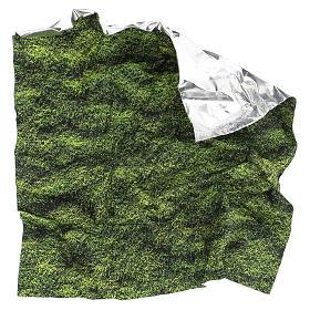 Moss design paper for nativity scenes 30x30 cm s4