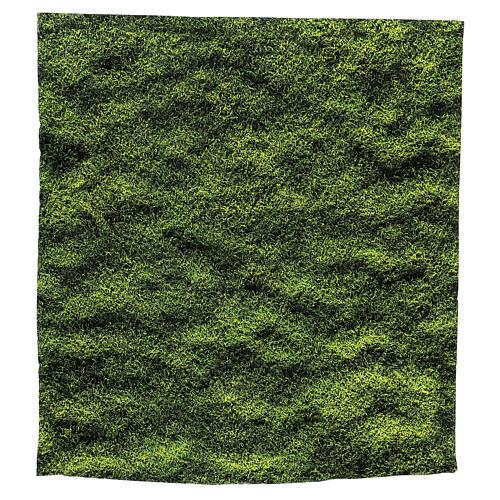 Moss design paper for nativity scenes 30x30 cm 1