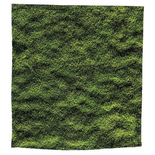Moss design paper for nativity scenes 30x30 cm 3
