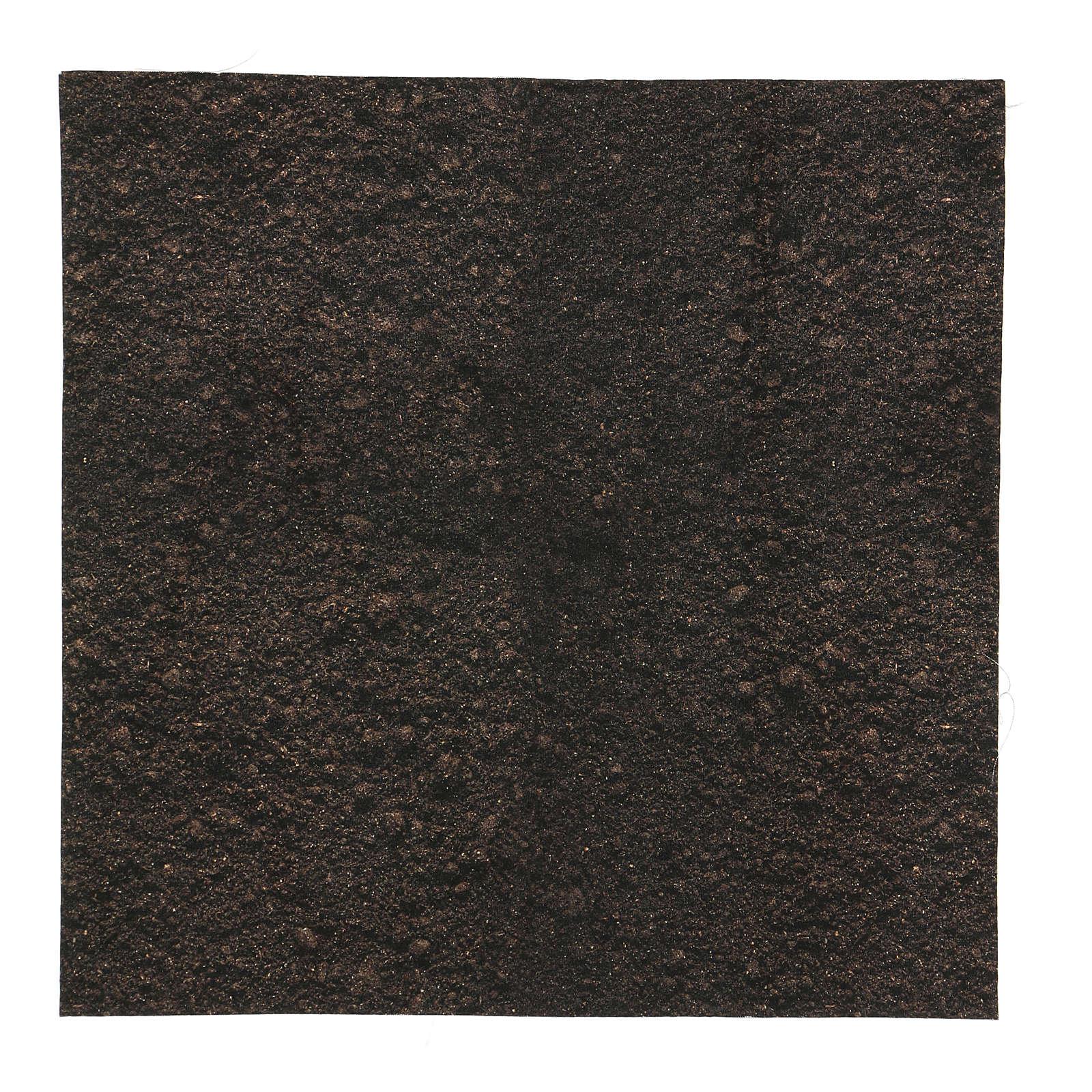 Modellierbares Papier für Krippe Erf-Effekt 30x30cm 4
