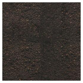 Dark soil paper shapeable 30x30 cm for nativity scenes s3