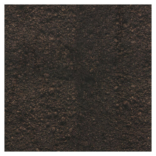 Dark soil paper shapeable 30x30 cm for nativity scenes 3